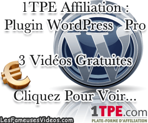 1TPE AFFILIATION : PLUGIN WORDPRESS PRO